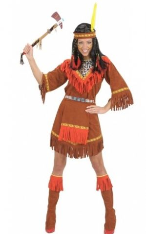 Indian Lady Plus Size Costume (7182)